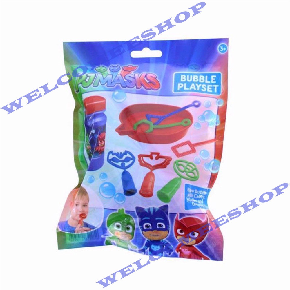 PJ MASKS BUBBLE PLAY SET