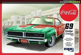 MPC #919 1/25 1969 Dodge Charger R/T