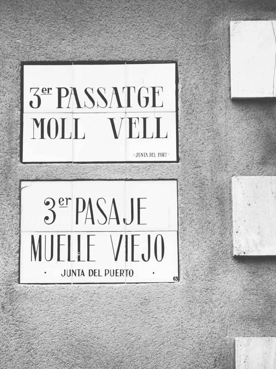 Moll Vell Street Sign