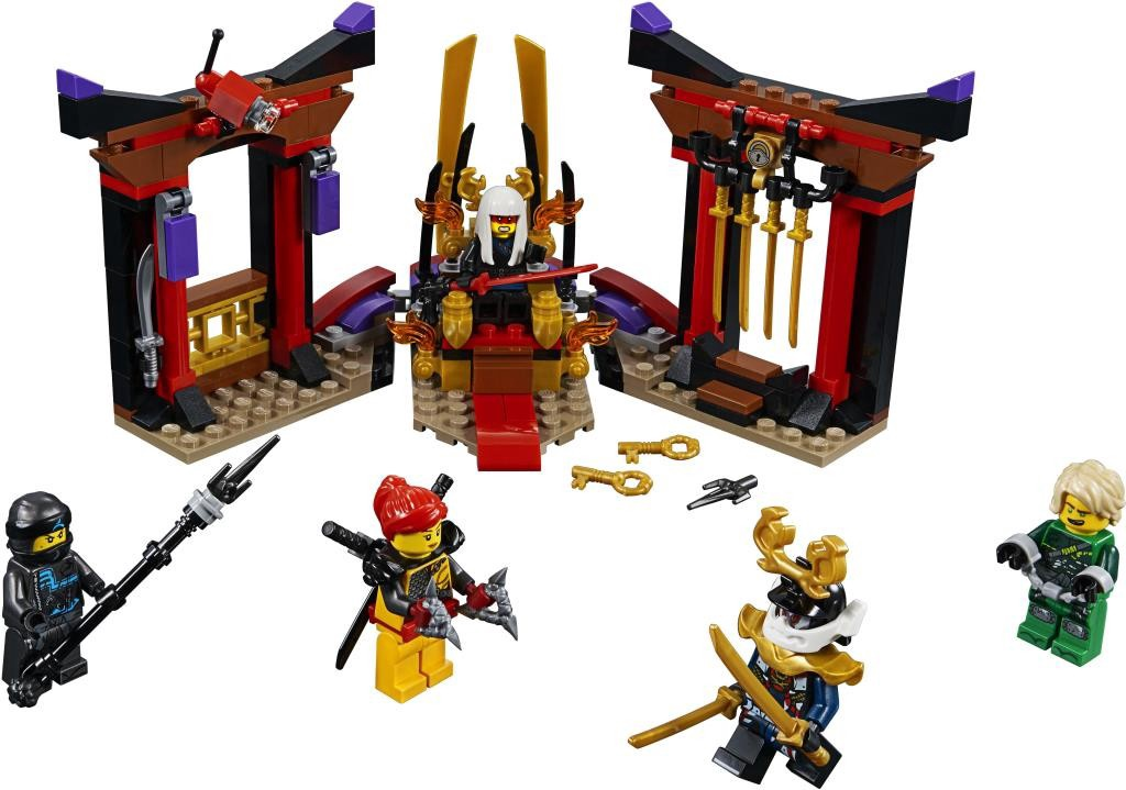 NINJAGO THRONE ROOM SHOWDOWN