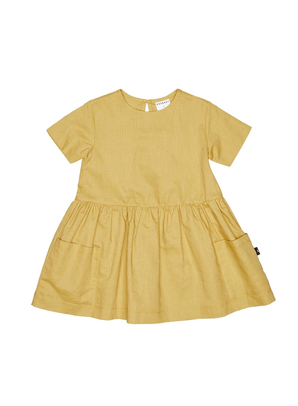 MUSTARD DARCY DRESS