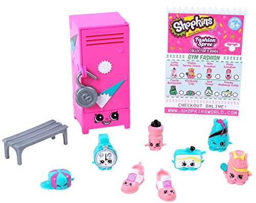 SHOPKINS FASHION SPREE GYM FASHION COLLECTION