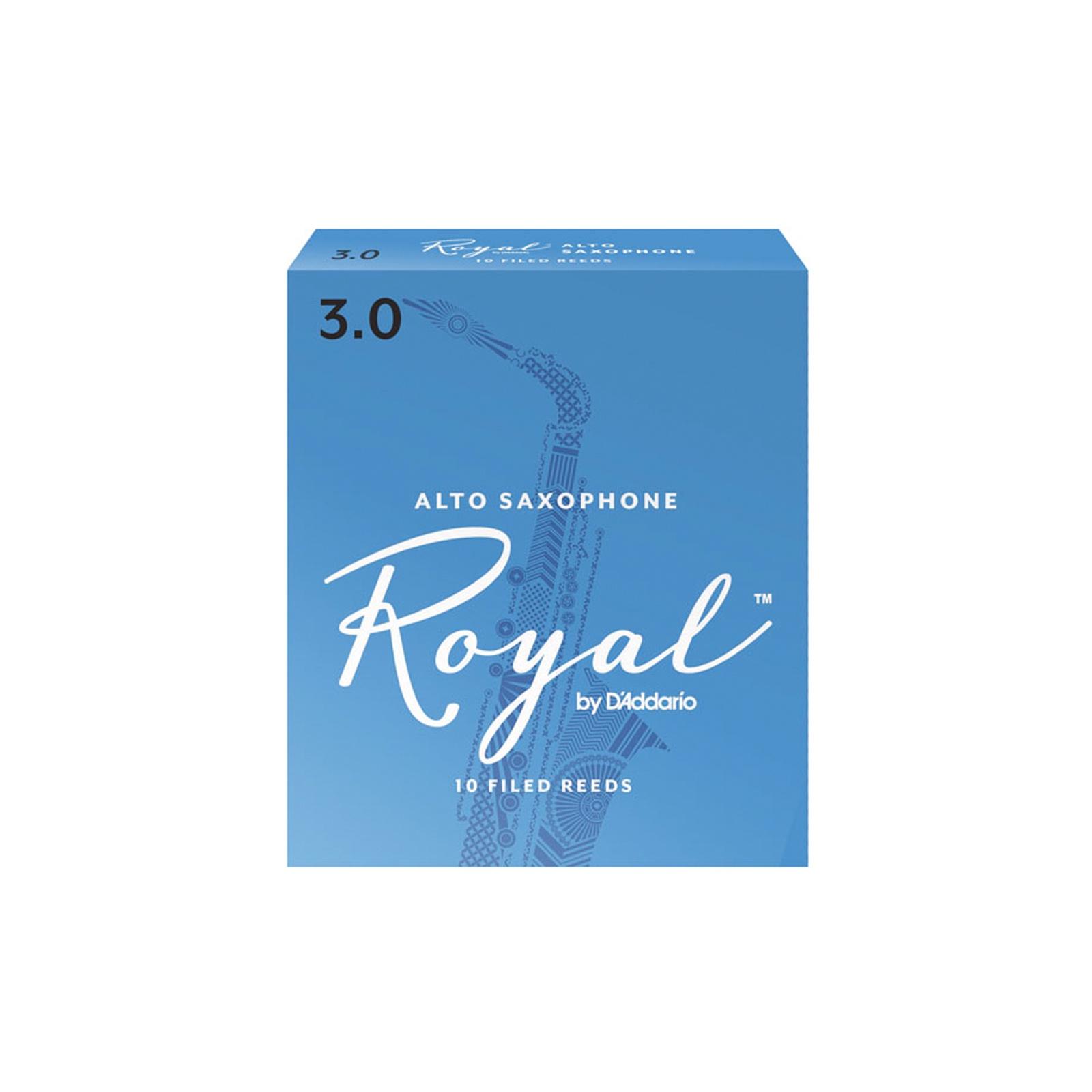 Rico Royal Alto Sax Reed Box