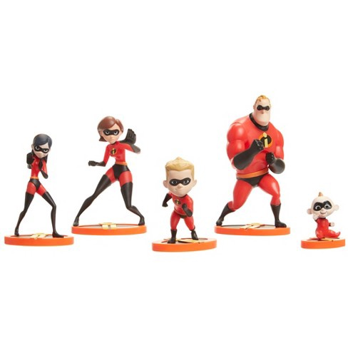INCREDIBLES 2 FAMILY FIGURINE PACK