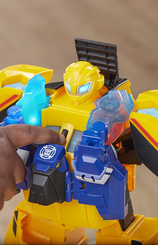 TRANSFORMERS RESCUE BOTS BUMBLEBEE RESCUE GUARD
