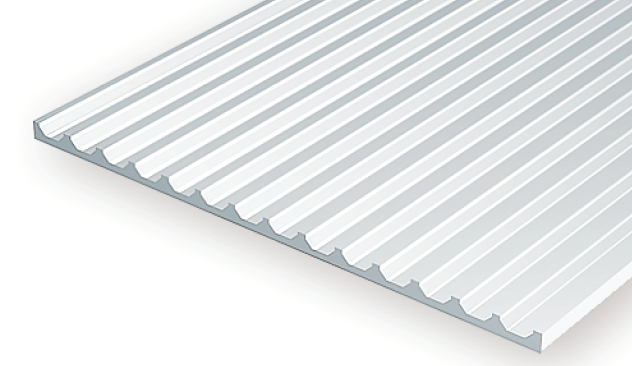 Evergreen #4544  Board And Batten Sheet With  3.2 mm Spacing