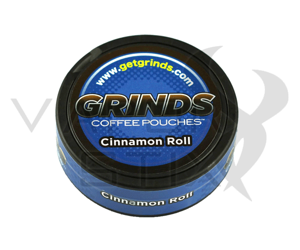 Grinds Coffee Pouches Cinnamon Roll