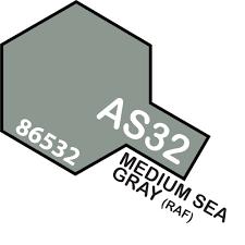 Tamiya Colour Spray Paint #AS-32 Medium Sea Grey 2  (RAF)