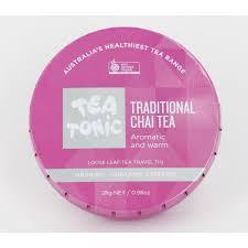 TRADITIONAL CHAI TEA TRAVEL TIN