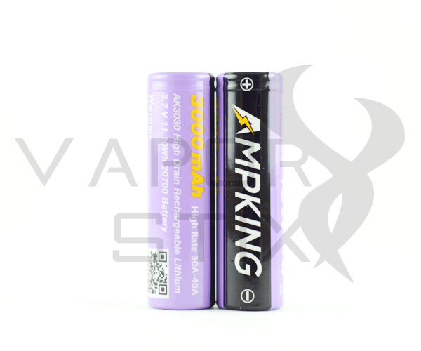 Ampking AK3030 20700 40A 3000mAh Battery