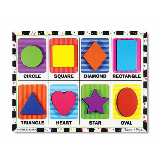 MD 3730 SHAPES CHUNKY PUZZLE