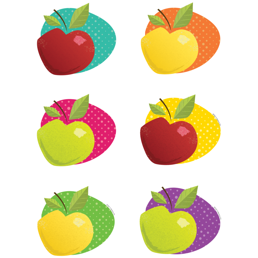 X DC EP 60367 AWESOME APPLES CUTOUTS
