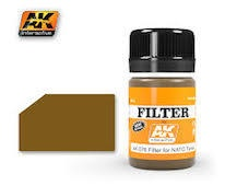 AK Interactive #AK076 Enamel Filter for NATO Tanks