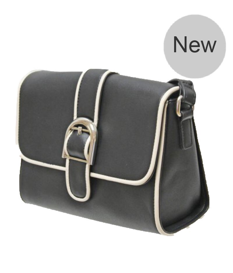 Dyani Buckle Satchel