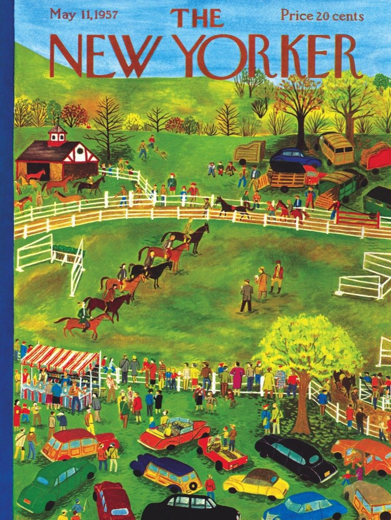 THE NEW YORKER HORSE SHOW