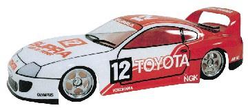 Frewer #FR7N 1/10 Toyota Supra Body Shell