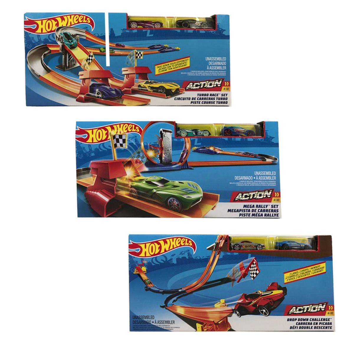 HOT WHEELS MEGA RALLY