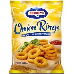 Birds Eye Frozen Onion Rings 500g