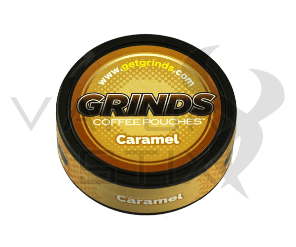 Grinds Coffee Pouches Caramel