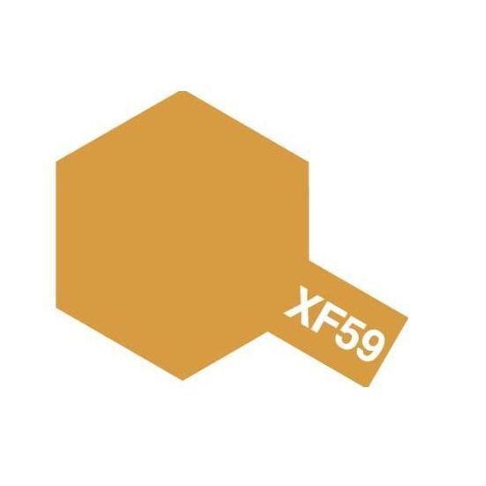 Tamiya Enamel Paint #8159 XF-59 Desert Yellow