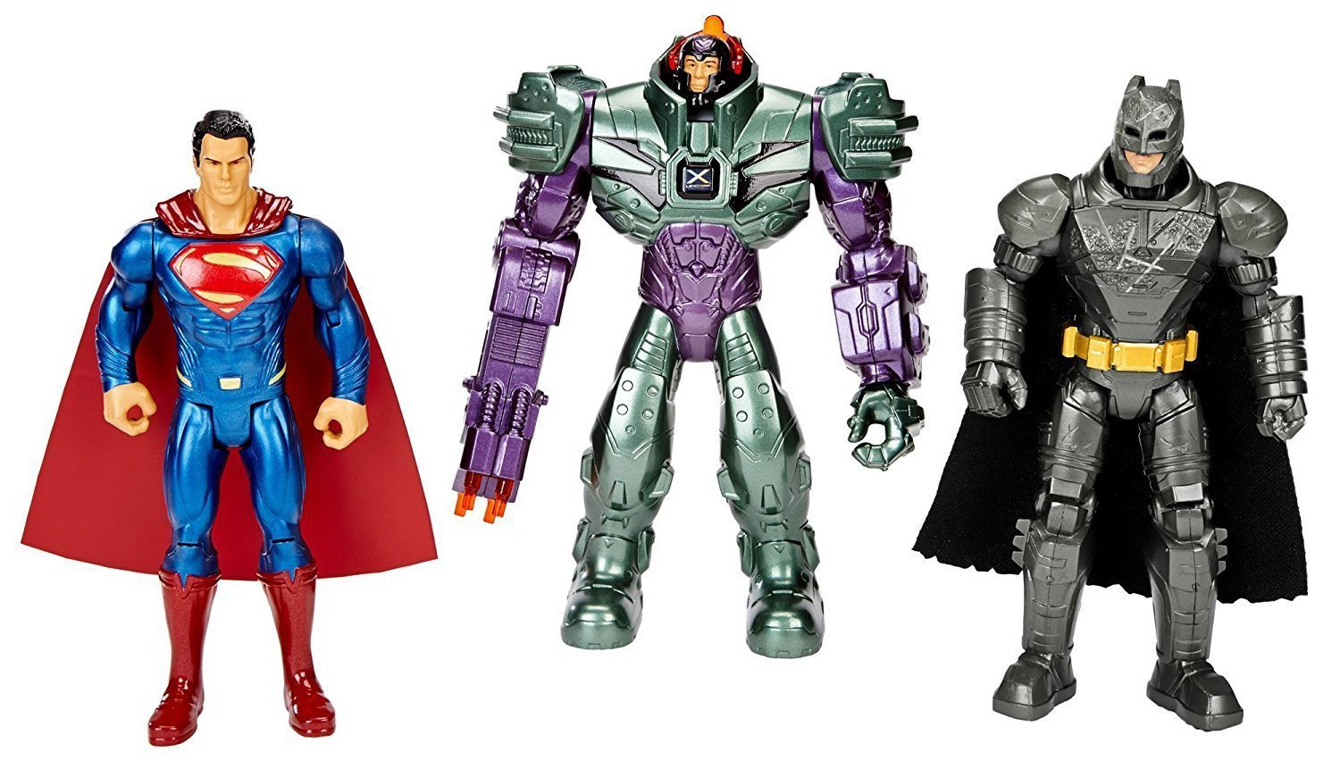 BATMAN V 12 SUPERMAN 3 PACK