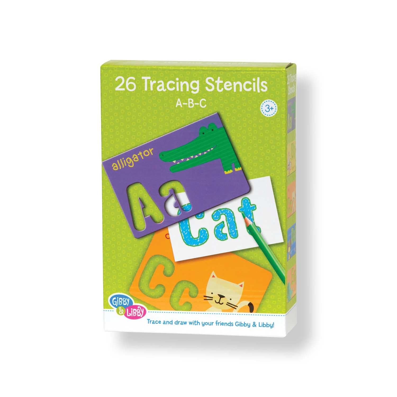 X EU BS2 17802 ABC STENCIL CARDS