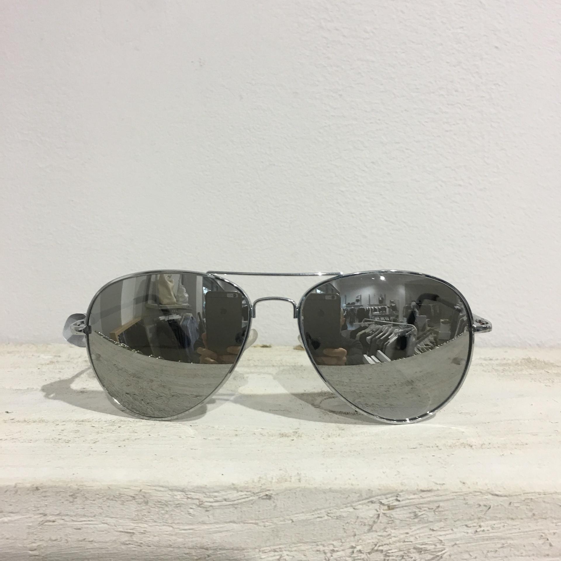 Sunglasses - Chrome Aviators