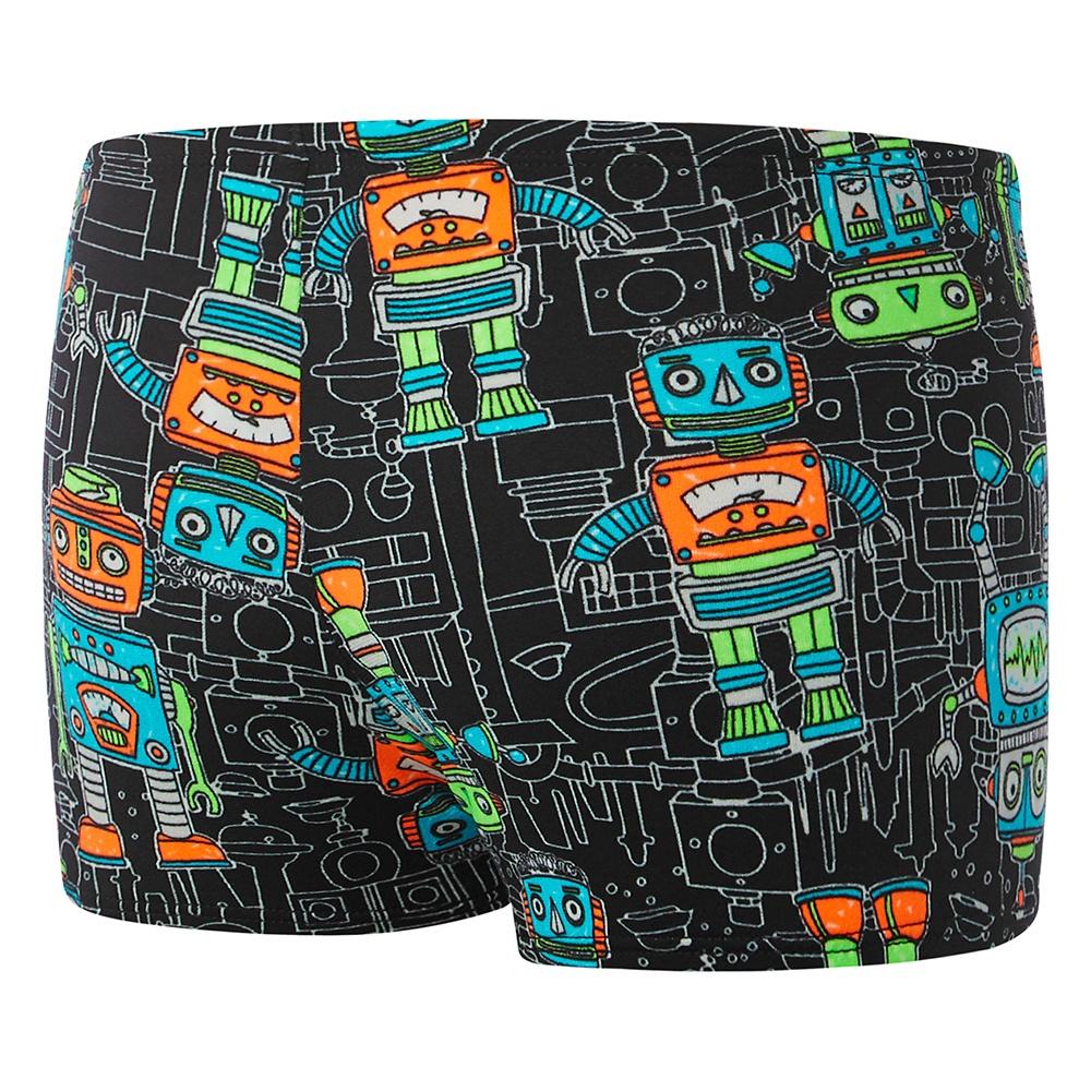 Toddler Boys Robots Aquashort Robots/Black
