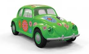 Airfix #J6031 Quick Build Volkswagen Beetle 'Flower Power'