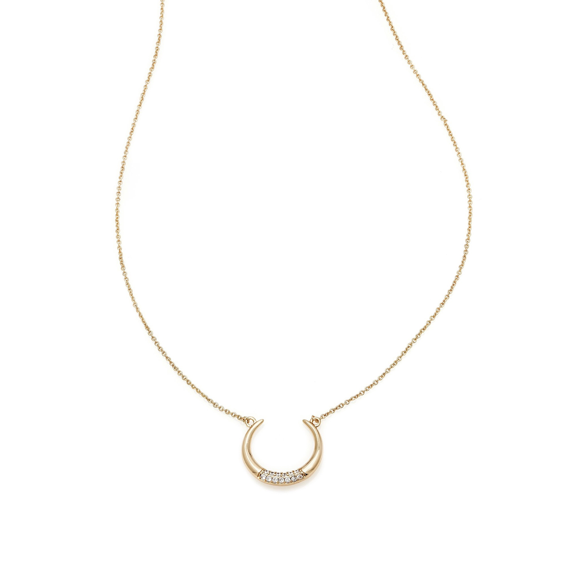 MELANIE AULD - LUNA NECKLACE IN GOLD