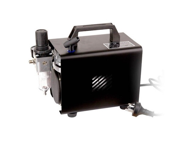 AC-150 Premium Air Compressor with Double Action Air Brush
