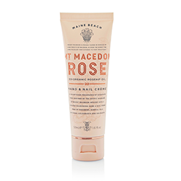 MAINE BEACH MT MACEDON ROSE MINI HAND & NAIL CREME with organic rosehip oil 50mL