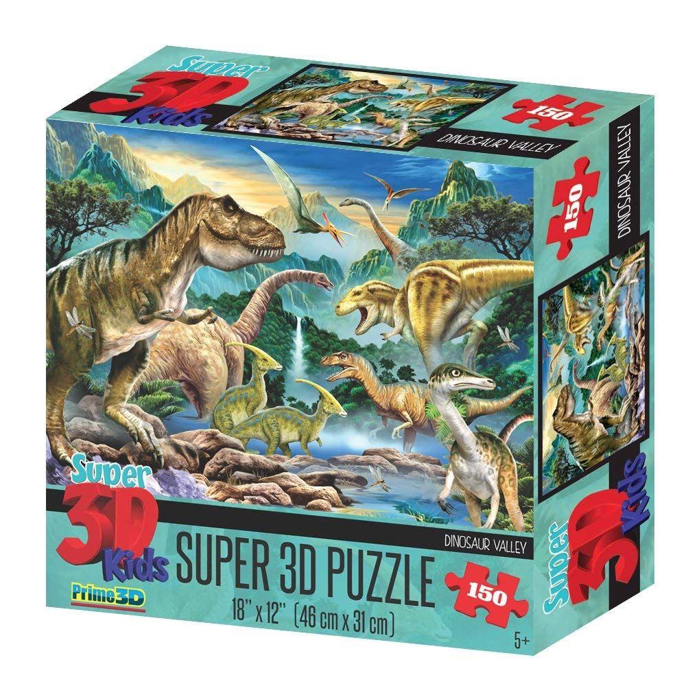 3D PUZZLE DINOSAUR VALLEY 150 PCS