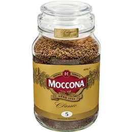 Moccona Instant Coffee Classic Medium Roast 400g