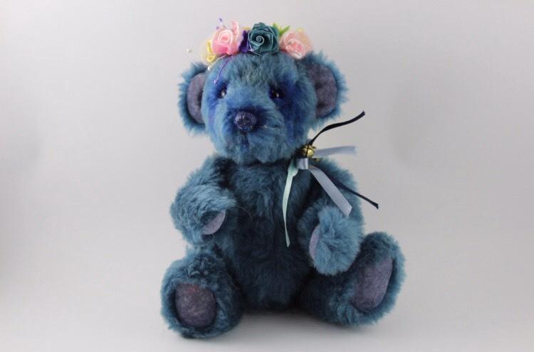 """Handmade Teddybear """"Blue Fairy"""""""