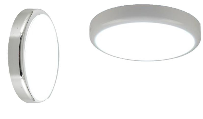 230V IP44 14W Emergency Trade LED Flush with Sensor 6000K (315mm)