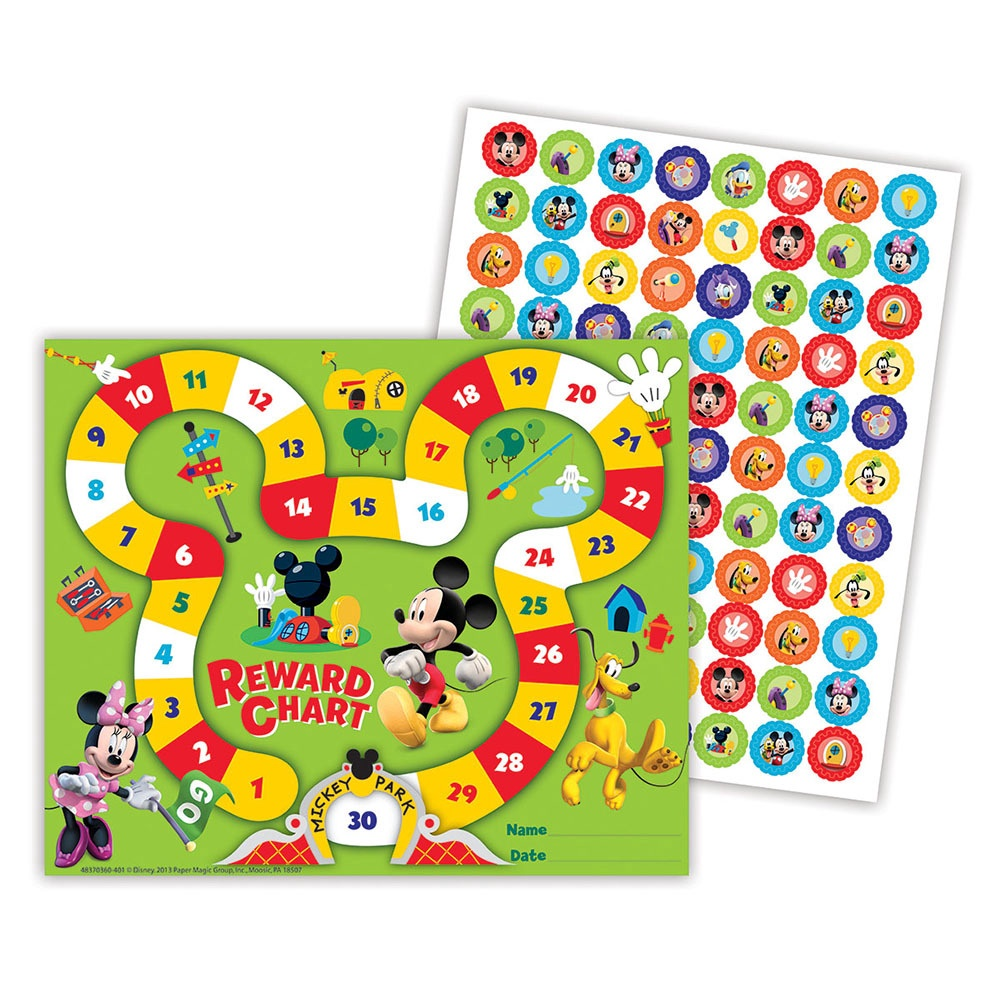 EU 837036 MICKEY MOUSE CLUBHOUSE MINI REWARD CHART