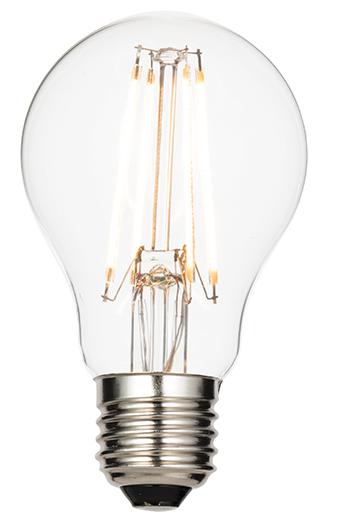 E27 LED filament GLS 4.3W warm white accessory - clear glass