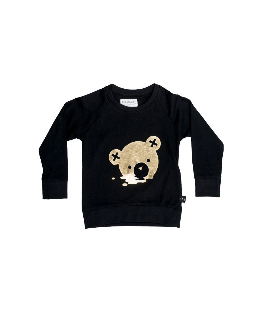 Huxbaby Melt Sweatshirt - Black