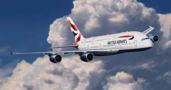 Revell #03922 1/144 Airbus A380-800 British Airways