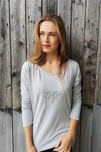 Happy Cotton Long Sleeve T-Shirt
