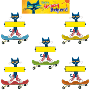EP 60348 PETE THE CAT GROOVY JOBS MINI BBS