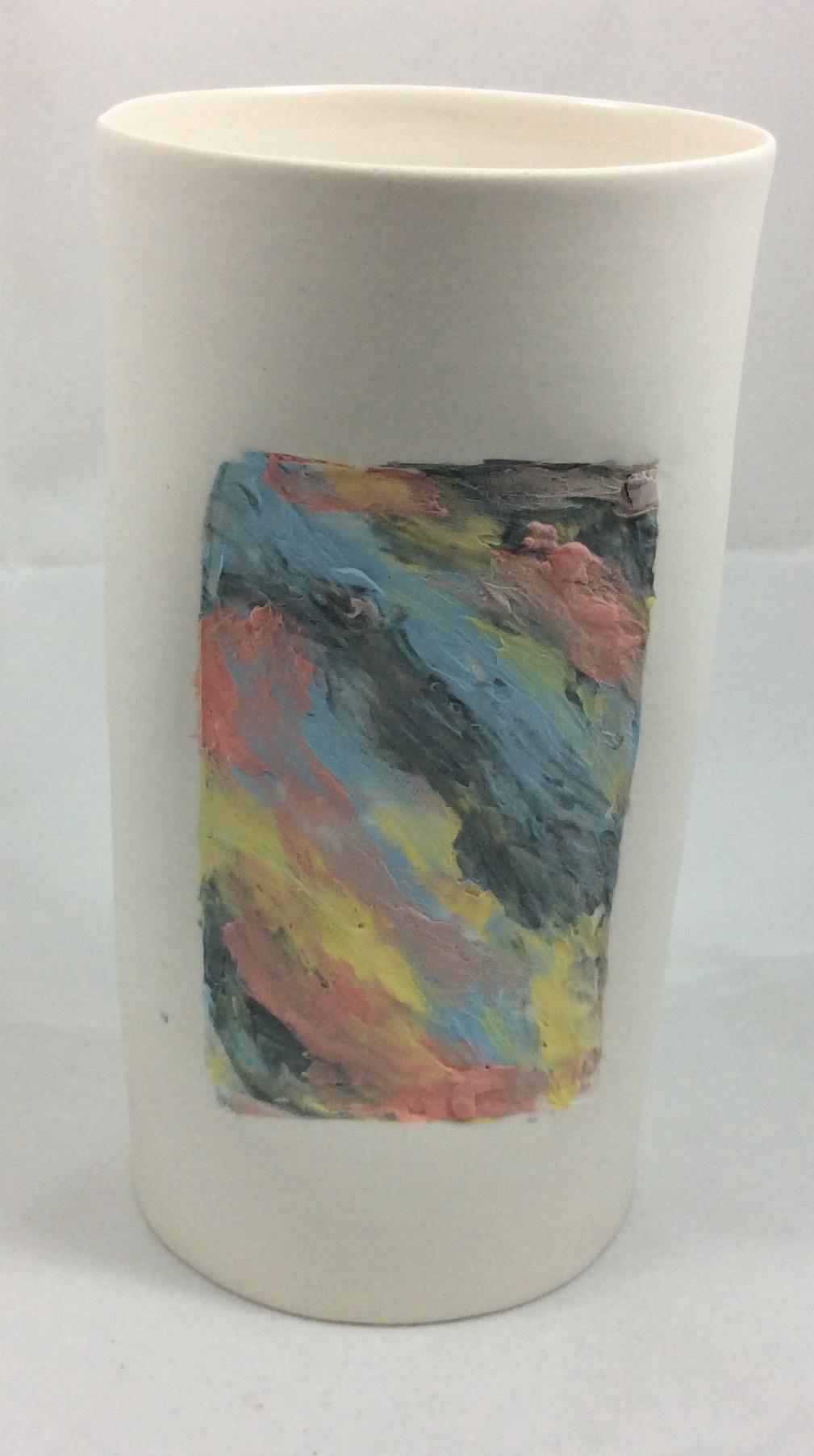 Cylinder Vase - Sunset