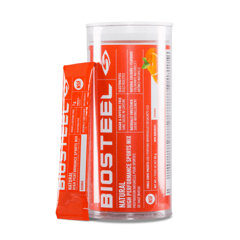 BioSteel High Performance Sports Mix Tube 12 ct- Orange