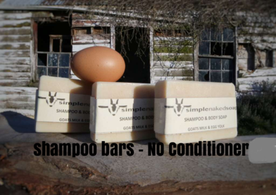 GOATS MILKS SHAMPOO BAR - EGG YOLK
