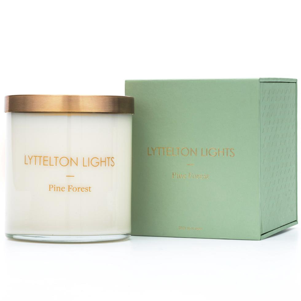 Lyttelton Lights Christmas Edition Candle- Pine Forest