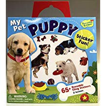 MY FIRST PUPPY REUSABLES STICKERS