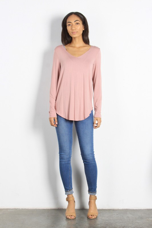 Everyday Basic  Long Sleeve Top