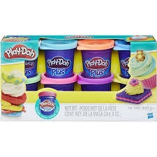 PLAY-DOH 8 SMALL TUBS