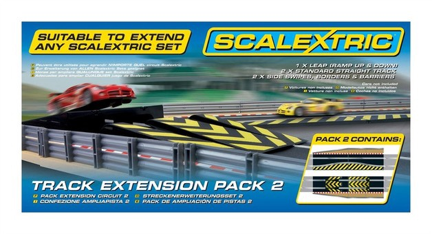 Scalextric #C8511 Track Extension Pack 2